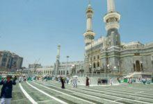 صورة مشروع توسيع فناء المسجد الحرام في مكة المكرمة على وشك الانتهاء