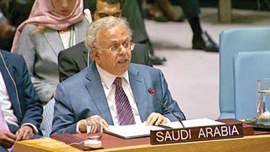Photo of المبعوث السعودي للأمم المتحدة يؤكد دعم المملكة للسلام والأمن الإقليميين