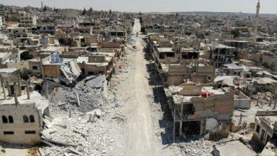 صورة الإعلام الحكومي: دمشق تسمح للمدنيين بالفرار من إدلب الخاضع لسيطرة المتمردين