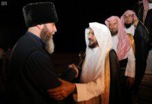 Photo of وزير الشؤون الإسلامية والدعوة والإرشاد تهنئ الحكومة الشيشانية بافتتاح مسجد فخر المسلمين