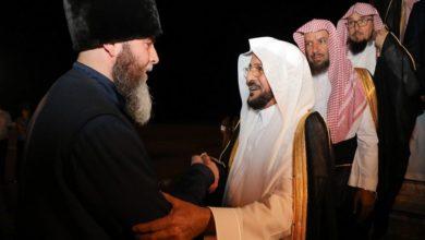 وزير الشؤون الإسلامية والدعوة والإرشاد تهنئ الحكومة الشيشانية بافتتاح مسجد فخر المسلمين