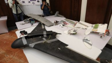 التحالف العربي يدمر طائرات الحوثي بدون طيار التي تستهدف خميس مشيط في جازان