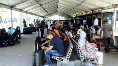 تعليق الرحلات الجوية في مطار ليبيا بعد إطلاق الصواريخ