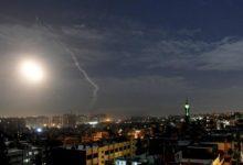 """الطائرات الإسرائيلية تضرب أهدافًا في سوريا """"لمنع هجوم الطائرات بدون طيار الإيرانية"""""""
