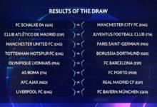 قرعة دوري أبطال أوروبا 2019: ليفربول وتشيلسي وتوتنهام ومان سيتي