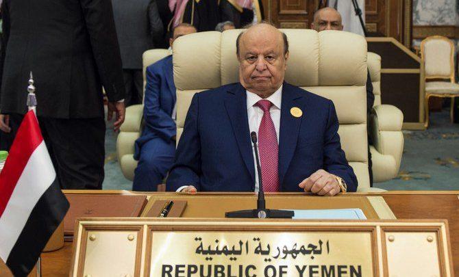 الرئيس اليمني يتهم دولة الإمارات العربية المتحدة بمهاجمة أهداف حكومية، وأبو ظبي تنفي