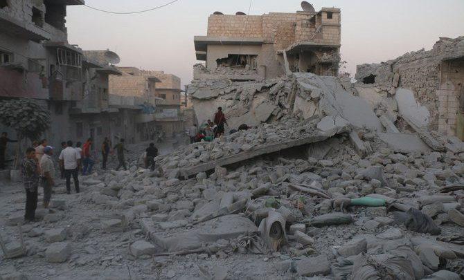 روسيا تعلن وقف إطلاق النار في إدلب السورية يوم السبت