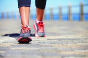 المشي يزيد السعرات الحرارية