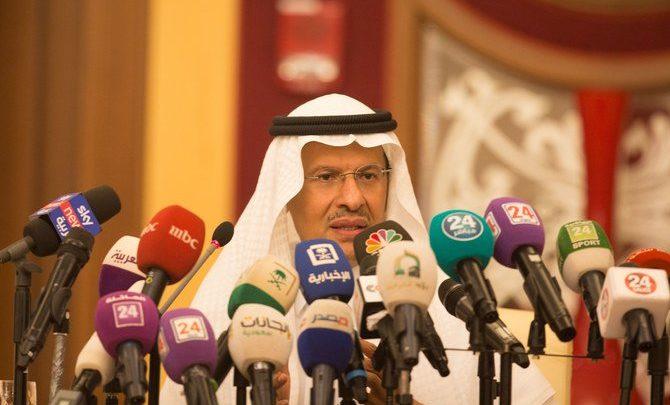 وزير الطاقة السعودي يقول إنه سيتم استعادة إنتاج النفط بالكامل بحلول نهاية الشهر