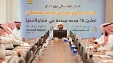 Photo of وزارة العدل السعودية تطلق 15 خدمة إلكترونية جديدة لتبسيط الإجراءات