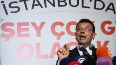 وزير تركي يهدد عمدة اسطنبول