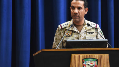 Photo of التحالف العربي: الحوثيون يطلقون الصواريخ من صعدة اليمنية