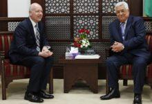 صورة الفلسطينيون فرحون باستقالة المبعوث الأمريكي للسلام