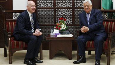 الفلسطينيون فرحون باستقالة المبعوث الأمريكي للسلام