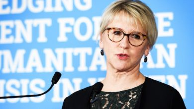 """Photo of وزيرة الخارجية السويدية تقول إن لديها """"أفكار جديدة"""" لليمن"""