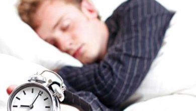 كم عدد ساعات النوم التي يحتاجها الشخص؟