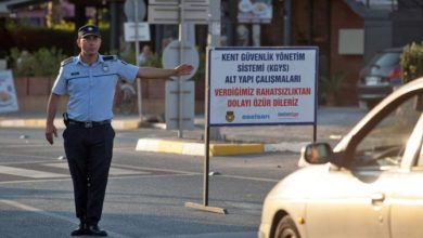صورة انفجار مستودع الأسلحة يلحق الضرر بشمال قبرص