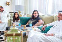صورة نجم المصارعة السعودي في WWE سعيد لكونه في منزله ووطنه