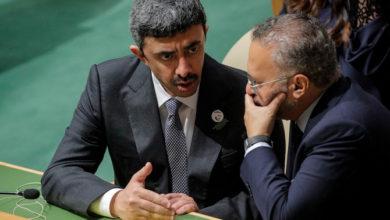الإمارات والبحرين تحثان قادة العالم على التحرك ضد إيران