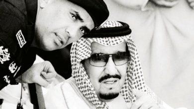 صورة حداد السعوديون على اللواء عبد العزيز الفغم، الذي حمى الملك من الأذى