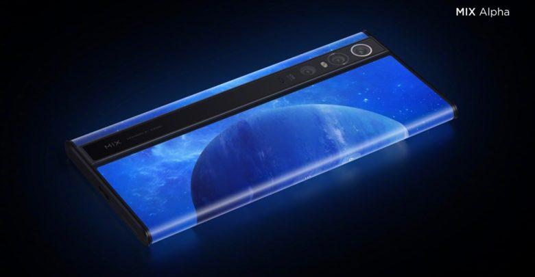 تعرض Xiaomi جهاز MI Mix Alpha، وهو هاتف ذكي بشاشة ملتفة وكاميرا ضخمة