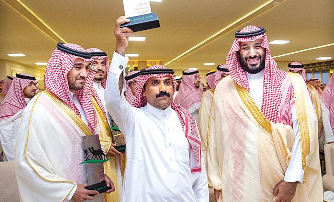 ولي العهد السعودي يحضر الحفل الختامي لمهرجان الهجن