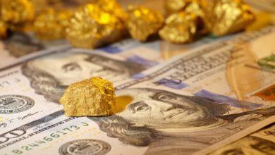 صورة الذهب ينخفض  إلى أدنى مستوياته في أسبوع، أقل من مستوى 1500 دولار