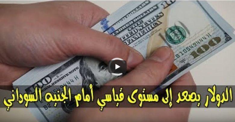 ارتفاع جديد في سعر الدولار وأسعار العملات الاجنبية مقابل الجنيه السوداني اليوم الإثنين 28 اكتوبر 2019م في السوق السوداء