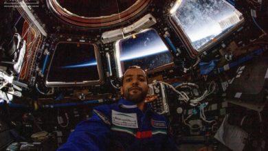 هزاع المنصوري يعود إلى الأرض بعد مهمة فضائية تاريخية لدولة الإمارات العربية المتحدة