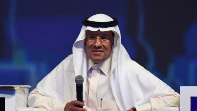 صورة وزير الطاقة السعودي يشيد بالمملكة لاستئنافها انتاج النفط بعد هجوم أرامكو
