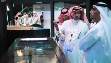 صورة التكنولوجيا السعودية المتقدمة تعرض في جيتكس