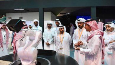 نائب حاكم دبي يزور الجناح السعودي في جيتكس