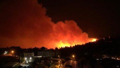 Photo of المنازل التى دمرتها الحرائق الضخمة تمتد إلى جبال الشوف اللبنانية