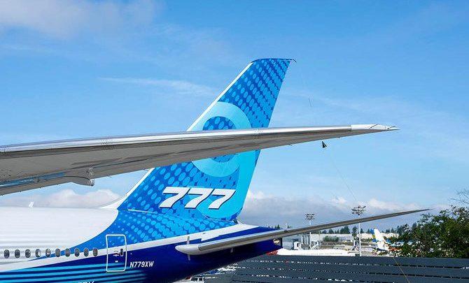 شركة طيران الإمارات تشكك في تسليم طائرة بوينج 777x في 2020