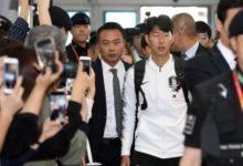 Photo of غادر فريق كرة القدم الكوري الجنوبي لمباراة التأهل لكأس العالم في بيونج يانج