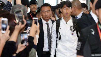 غادر فريق كرة القدم الكوري الجنوبي لمباراة التأهل لكأس العالم في بيونج يانج