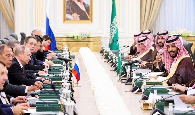 بوتين ,ولي عهد السعودية يترأسان الاجتماع الأول للجنة الاقتصادية السعودية الروسية