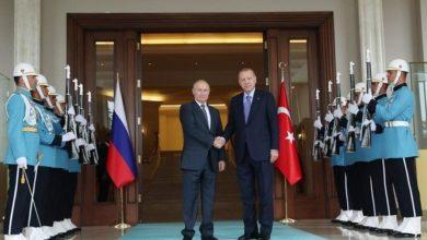 صورة الكرملين: بوتين يدعو أردوغان إلى روسيا وسط هجوم سوريا