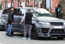 سيرجيو أغويرو يتعرض لحادث سير قبل تدريبات مانشستر سيتي