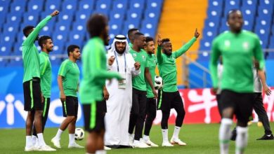 """Photo of """"الهدف الذهبي"""": الفلسطينيون يحتفلون بالقرار السعودي بلعب كأس العالم في فلسطين"""