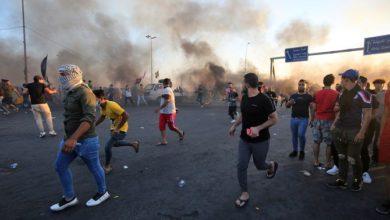 """مقتل العشرات في اليوم السادس من احتجاجات بغداد، الجيش يعترف باستخدام """"القوة المفرطة"""""""