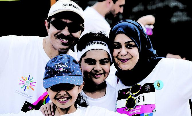 Color Run: دليل ودود للاستعداد للمتعة واللياقة البدنية في المملكة العربية السعودية