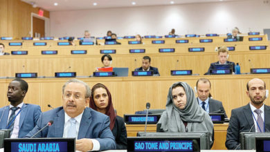 "Photo of المبعوث السعودي يخبر الأمم المتحدة أن فلسطين ""عزيزة على قلوب العرب"""