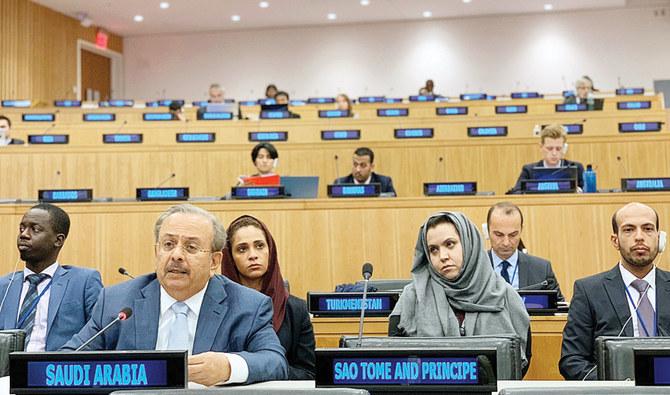 """المبعوث السعودي يخبر الأمم المتحدة أن فلسطين """"عزيزة على قلوب العرب"""""""