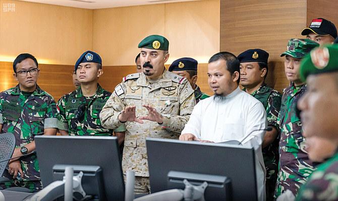 وفد عسكري إندونيسي يزور التحالف الإسلامي لمكافحة الإرهاب في الرياض