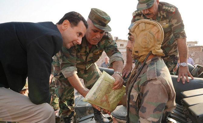 بشار الأسد يتعهد بدعم الأكراد ضد هجوم تركيا