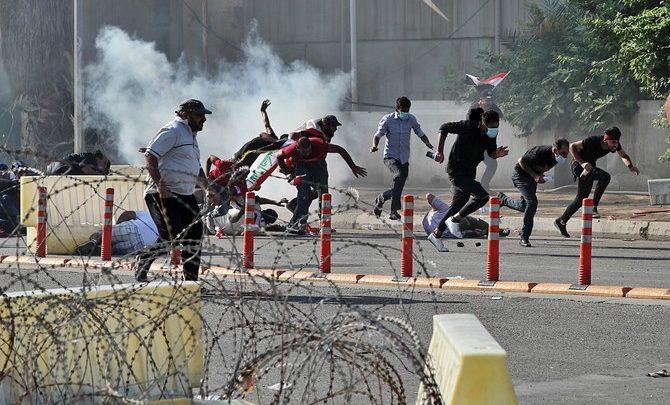 قتيلان مع استئناف الاحتجاجات المناهضة للحكومة في العراق