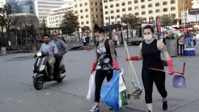 اليوم التاسع من الاحتجاجات في لبنان يشهد تصاعد العنف