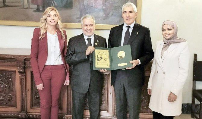 رئيس مركز الإغاثة السعودي يلتقي وزير الشؤون الأوروبية الإيطالي