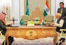 ولي العهد السعودي يلتقي رئيس الوزراء الهندي ناريندرا مودي